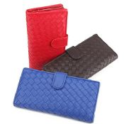 weave clutch wallet images
