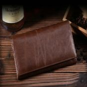 Leather Card Holder Clutch Wallet images