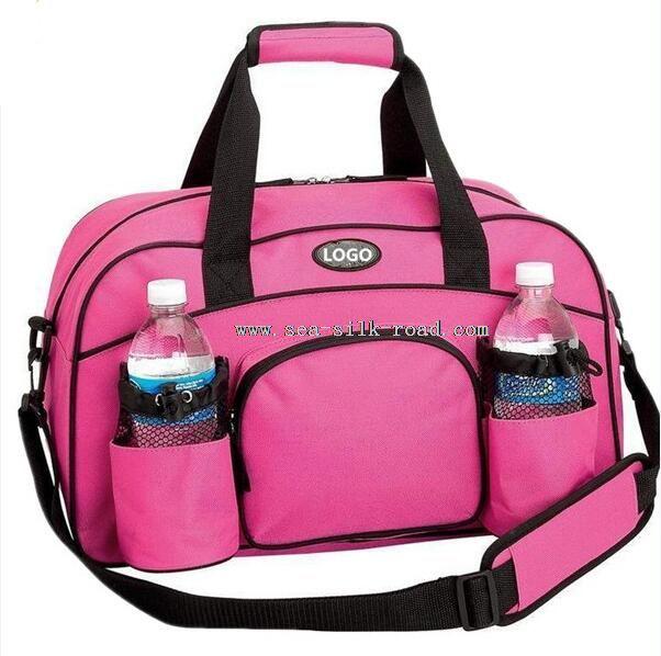 Sport Bag with Water Bottle Holder